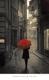 Red Rain Poster von Stefano Corso