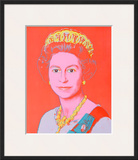 Reigning Queens: Queen Elizabeth II of the United Kingdom, 1985 Prints by Andy Warhol