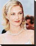 Joely Richardson Stretched Canvas Print