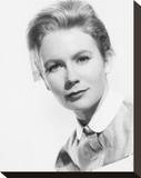Juliet Mills Stretched Canvas Print