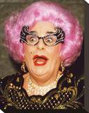 Dame Edna Everage Stretched Canvas Print