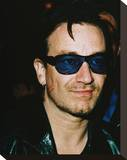 Bono Stretched Canvas Print