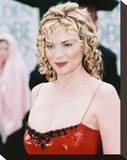 Kim Cattrall Stretched Canvas Print