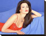 Hunter Tylo Stretched Canvas Print