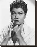 Pearl Bailey Stretched Canvas Print