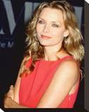Michelle Pfeiffer Stretched Canvas Print