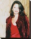 Catherine Zeta-Jones Stretched Canvas Print