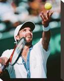 Patrick Rafter Stretched Canvas Print