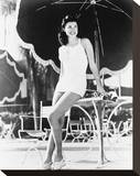 Esther Williams Stretched Canvas Print