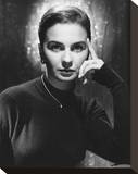Jean Simmons Stretched Canvas Print