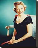June Allyson Stretched Canvas Print