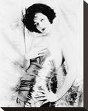 Clara Bow Stretched Canvas Print