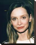 Calista Flockhart Stretched Canvas Print