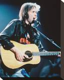 Neil Young Stretched Canvas Print