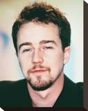 Edward Norton Stretched Canvas Print