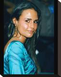Jordana Brewster Stretched Canvas Print