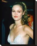 Julia Stiles Stretched Canvas Print