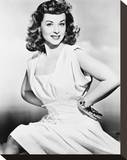 Paulette Goddard Stretched Canvas Print