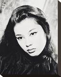 France Nuyen Stretched Canvas Print