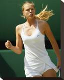 Maria Sharapova Stretched Canvas Print