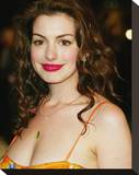 Anne Hathaway Stretched Canvas Print