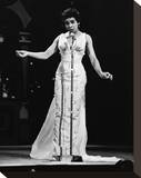 Shirley Bassey Stretched Canvas Print