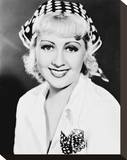 Joan Blondell Stretched Canvas Print