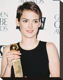 Winona Ryder Stretched Canvas Print