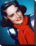 Alexis Smith Stretched Canvas Print