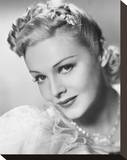 Madeleine Carroll Stretched Canvas Print