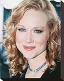 Laura Linney Stretched Canvas Print