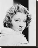 Sylvia Sidney Stretched Canvas Print