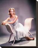 Dina Merrill Stretched Canvas Print