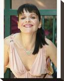 Juliette Binoche Stretched Canvas Print