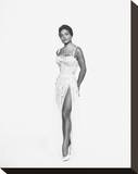 Eartha Kitt Stretched Canvas Print
