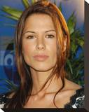Rhona Mitra Stretched Canvas Print