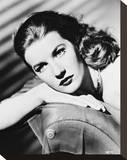 Lois Maxwell Stretched Canvas Print