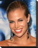 Brooke Burns Stretched Canvas Print