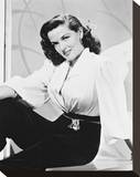 Jane Russell Stretched Canvas Print