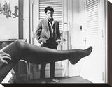 Dustin Hoffman Stretched Canvas Print