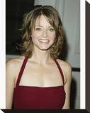 Jodie Foster Stretched Canvas Print