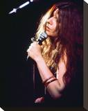 Janis Joplin Stretched Canvas Print