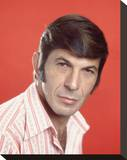 Leonard Nimoy Stretched Canvas Print