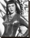 Maria Montez Stretched Canvas Print