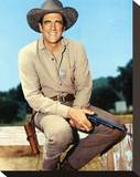 James Arness Stretched Canvas Print