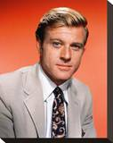 Robert Redford Stretched Canvas Print