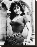 Gina Lollobrigida - Notre Dame de Paris Stretched Canvas Print