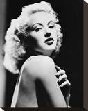 Betty Grable Stretched Canvas Print