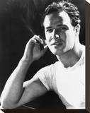 Marlon Brando - A Streetcar Named Desire Stretched Canvas Print