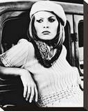 Faye Dunaway Stretched Canvas Print